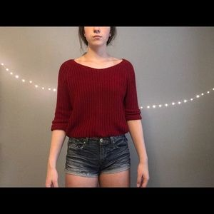 Burnt Red Sweater